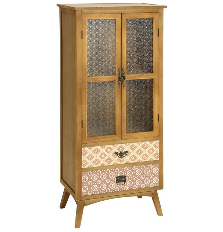 53 best alacenas y vitrinas vintage images on pinterest for Alacenas de madera