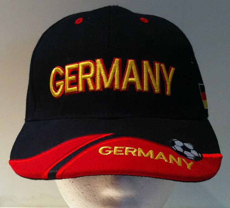NEW GERMAN GERMANY SOCCER TEAM FLAG SPORTS HAT CAP