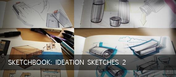 Sketchbook: Ideation Sketches 2