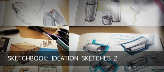Sketchbook: Ideation Sketches 2