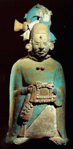 Jaina Standing Figurines Figure with facial scarification