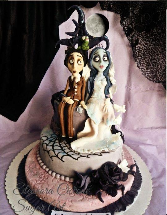 La sposa Cadavere!!! Eleonora Ciccone. Cake