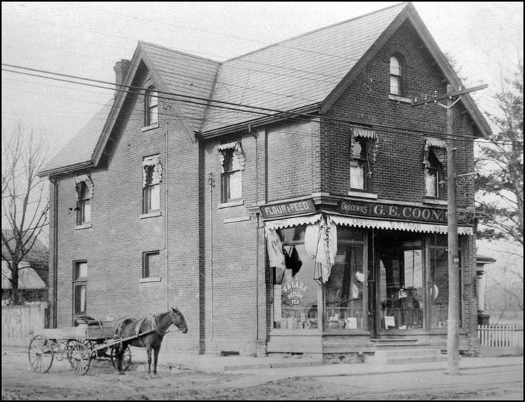 Yonge-Eglinton, N/W corner 1920