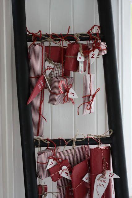 Pretty Christmas Advent calendar—fabulous reds❣