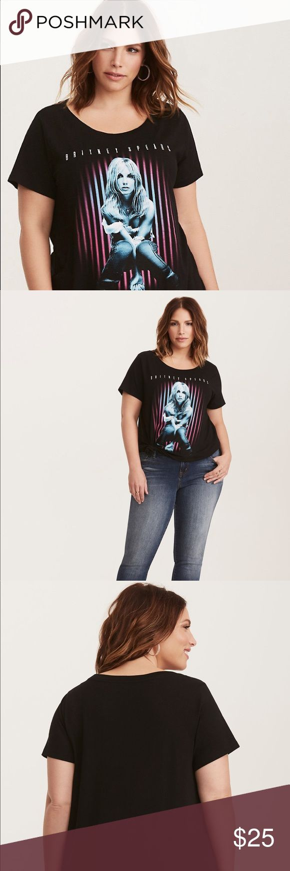 Torrid Britney Spears Tee New with tags. Torrid Brand. Britney Spears shirt.  Size 2. Cotton. Torrid Tops Tees - Short Sleeve