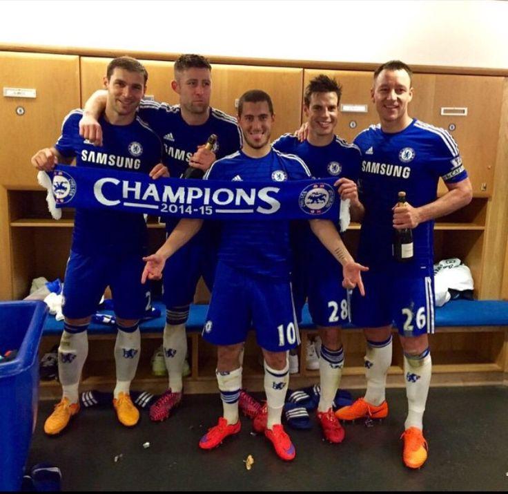 Chelsea FC Champions 2014/15