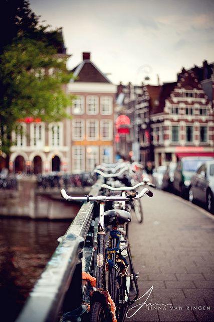 amsterdam stad van fietsen
