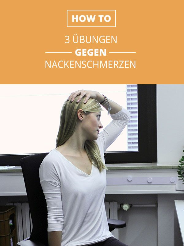 3 Übungen gegen Nackenschmerzen