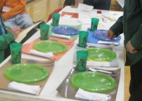 Vocational Assessments - setting the table