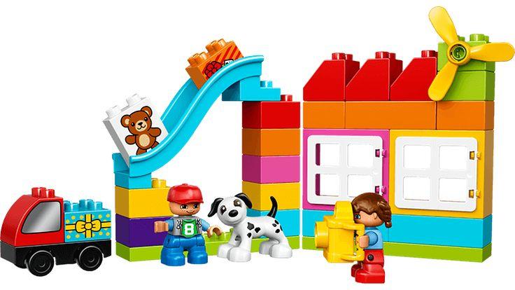 LEGO® DUPLO® Kreativ byggekurv