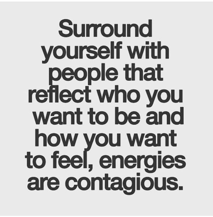 Energies are contagious....