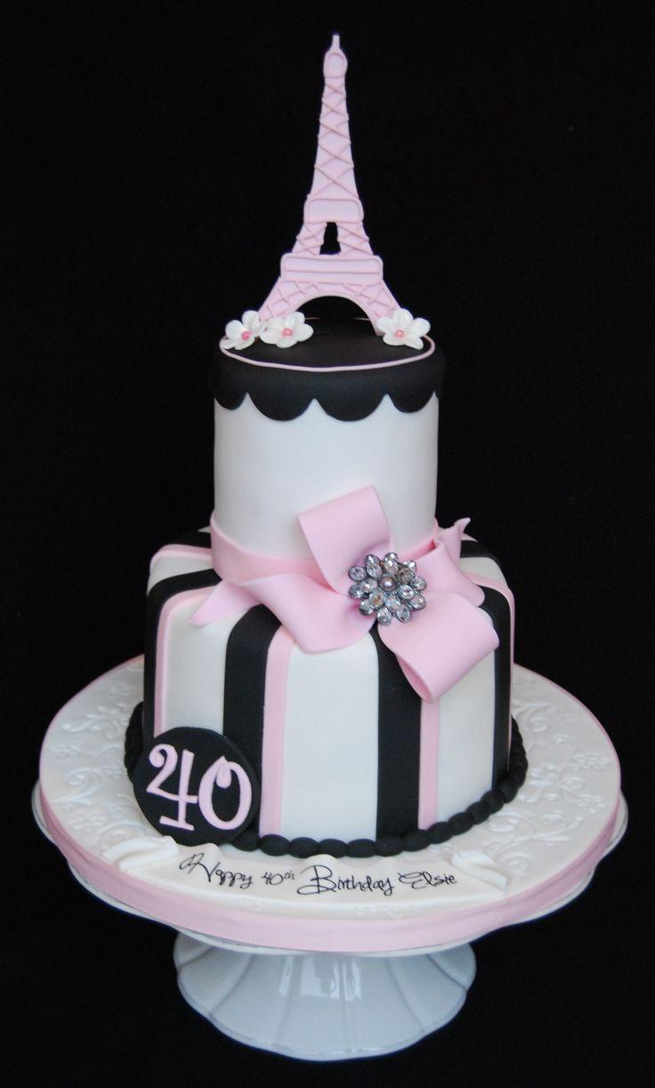 year birthday invitatiowordingiindiastyle%0A Paris theme party  Eiffel tower   th birthday cake