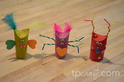 17 best images about 101 cardboard tube crafts on for Tissue tube crafts