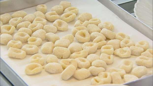 Gnocculi di grano duro al sugo di crostacei
