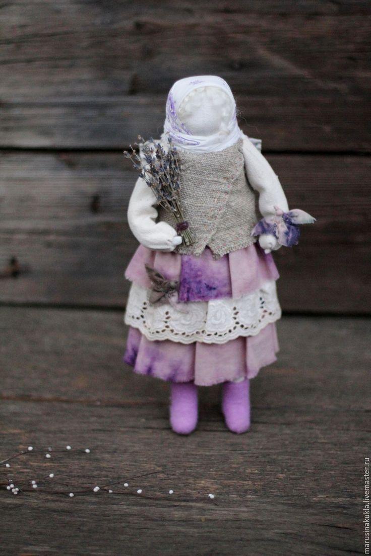 """Купить Ангел """"Лавандовый"""" - сиреневый, ангел, ангелочек, ангел-хранитель, ангелы, ангелок, традиционная кукла"""
