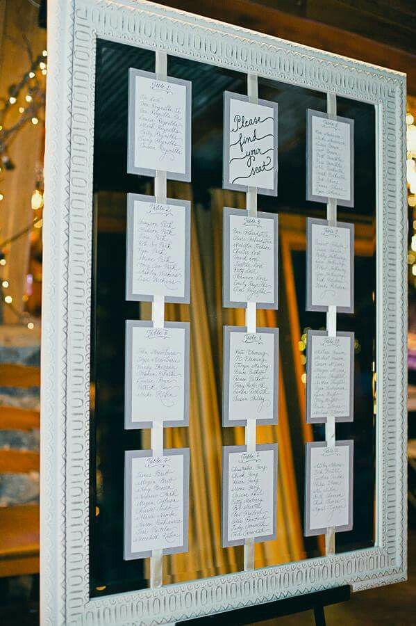 Best Seating Chart Images On   Weddings Wedding