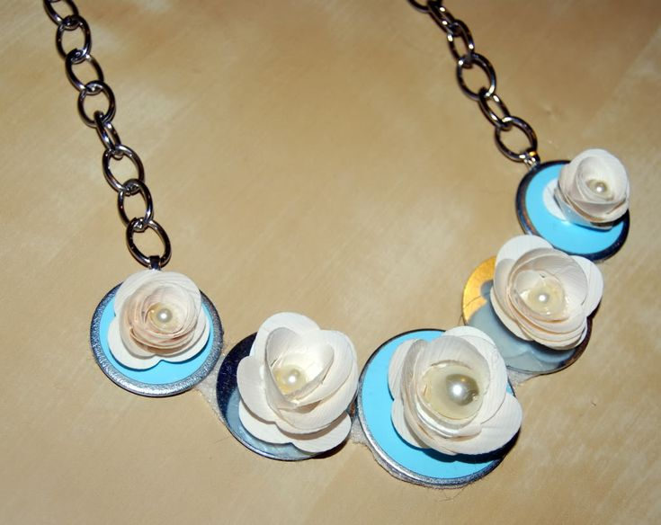 Duct tape and washer necklace  fun camp project!