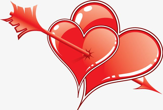 Double Edged Two Hearts An Arrow Love Png Transparent Clipart Image And Psd File For Free Download Clip Art Love Png Heart With Arrow