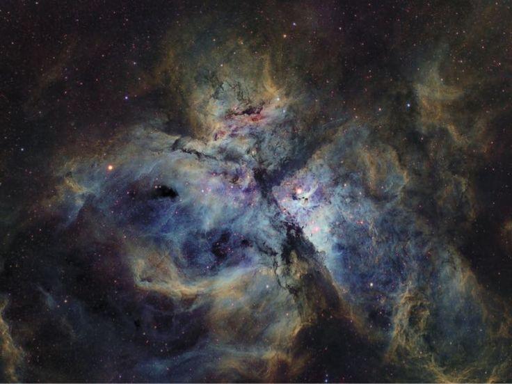 Carina Nebula - photographed in narrowband