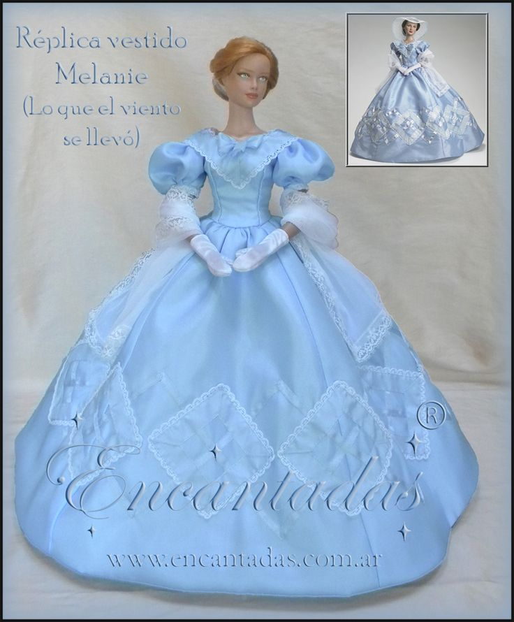 Gone with the wind - Melanie replica Dress by Encantadas.deviantart.com on @deviantART