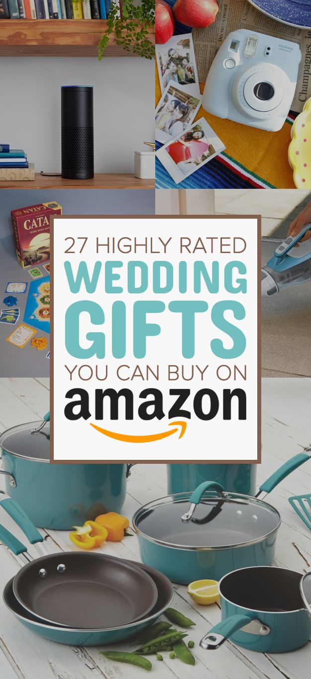 From kitchen appliances they'll use each day to games that'll make their marriage more fun, here are 27 top-rated things to get the happy couple (even if that happy couple includes yourself).