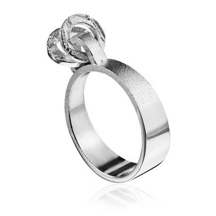 Movrings Silver Ring by Lapponia #lapponia #style #brand #jewellery #cambridge #ring #beautiful