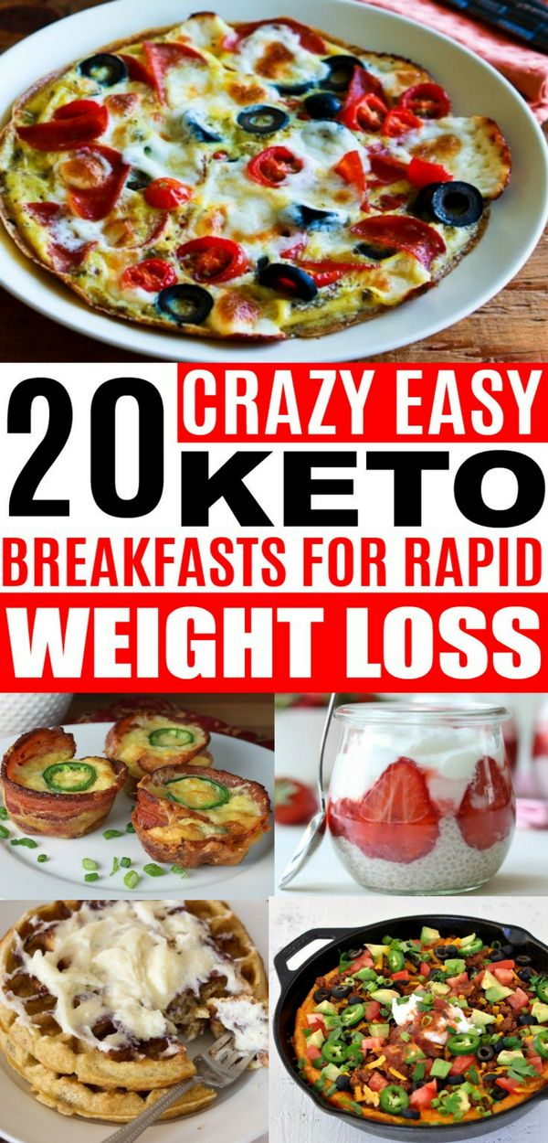 These Keto Breakfast Recipes are so EASY! Great low carb recipes for weight loss and keeping on my ketogenic diet!