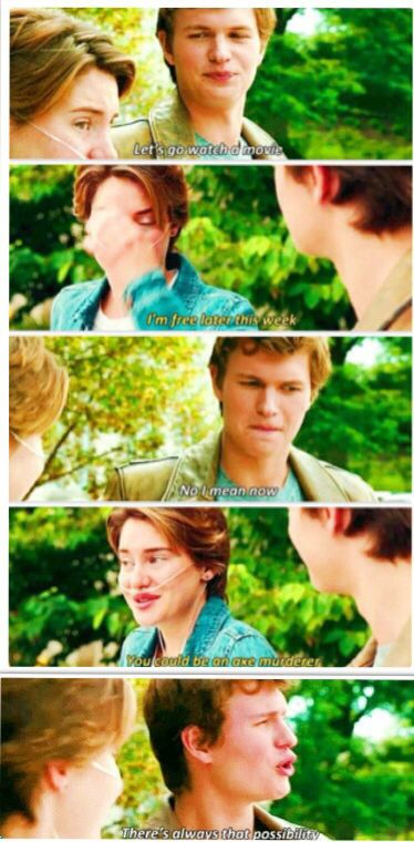 The Fault In Our Stars... I LOVE THIS PART!!!!!!!!!!! watch this movie free here: http://realfreestreaming.com