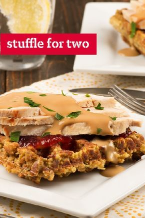 Stuffle For Two Bring Delicious Thanksgiving Flavor To The Dinner