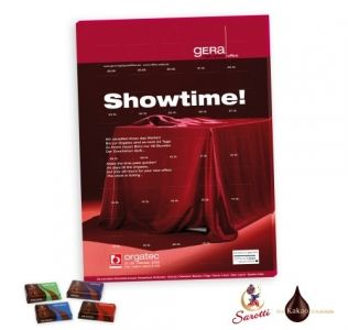 Promotional advent calendar Lindt Premium Countdown Advent Calendar available with either 10, 12, 15 or 31 windows