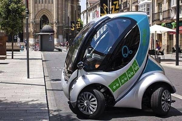 Folding electric car!!