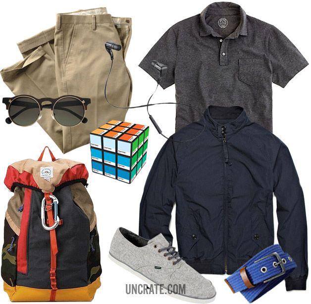 .: Rubix Cubes, Casual Style, Bus, Style Garb, Rubik Cubes, Men Style, Grey Style, Men Fashion, Male Fashion