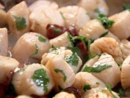 Scallops and Chorizo : Recipes : Cooking Channel