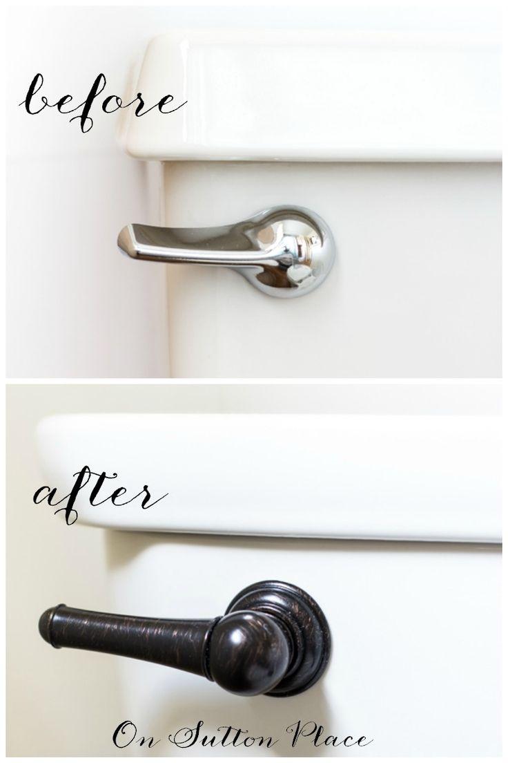 How to Update a Bathroom   5 DIY Ideas   Take an outdated bathroom from drabBest 25  How to update a bathroom ideas on Pinterest   Diy  . Easy Bathroom Updates. Home Design Ideas