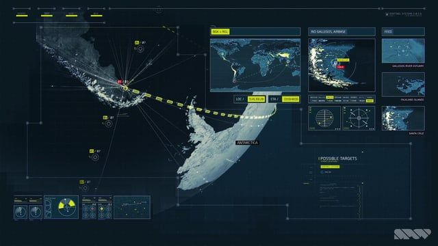 One of a series of cinematic sequences designed and produced by Spov for 2014's Call of Duty for Activision.