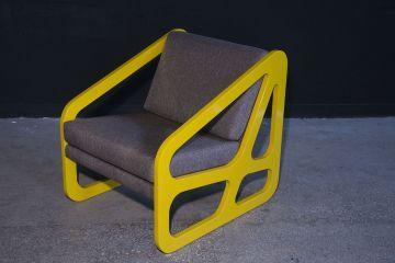 Spongy Tekli Koltuk Sarı