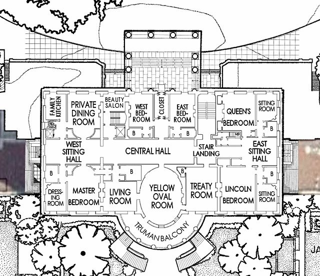 126 best images about white house on pinterest clinton n for Vice president house floor plan