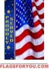 Troops Memorial Garden Flag