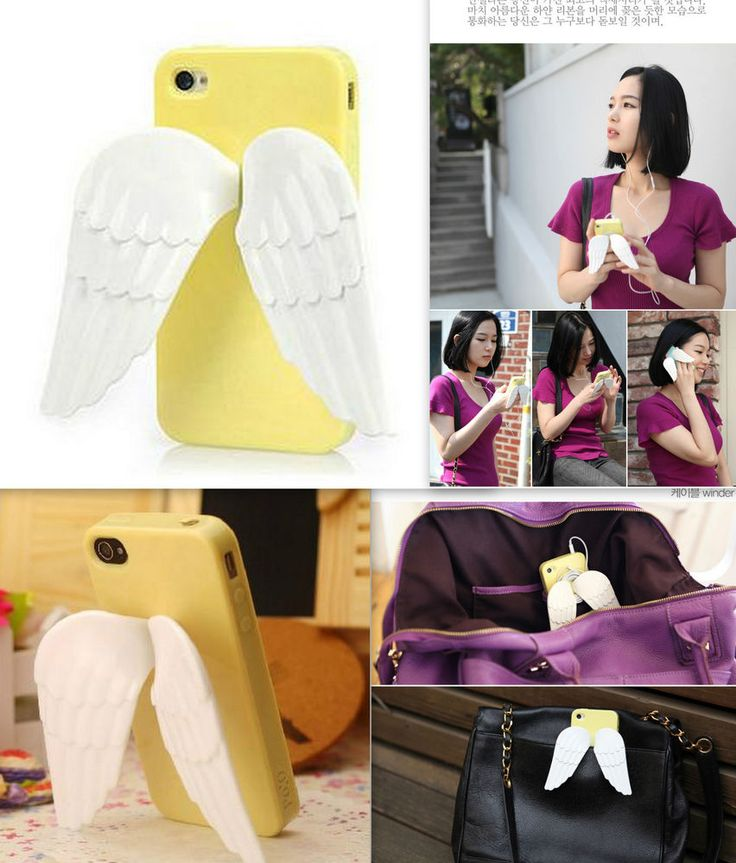 iPhone 4/4S Engelsflügel Angel wings Case Hülle Schutzhülle Gelb Kunststoff Neu in Handys & Kommunikation, Handy- & PDA-Zubehör, Taschen & Schutzhüllen | eBay