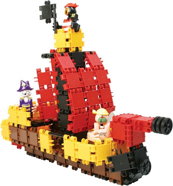 Constructie Clics piraten piratenboot