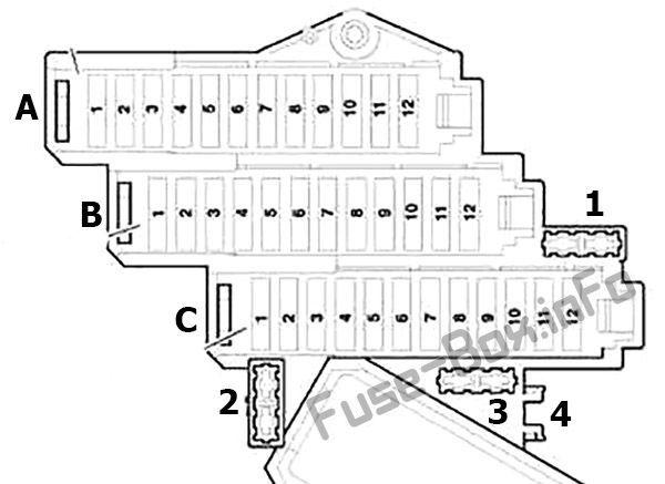 Audi Q7 4l 2007 2008 2009 2010 2011 2012 2013 2014 2015 Fuse Box Diagram Audi Engine Control Unit Audi Q7