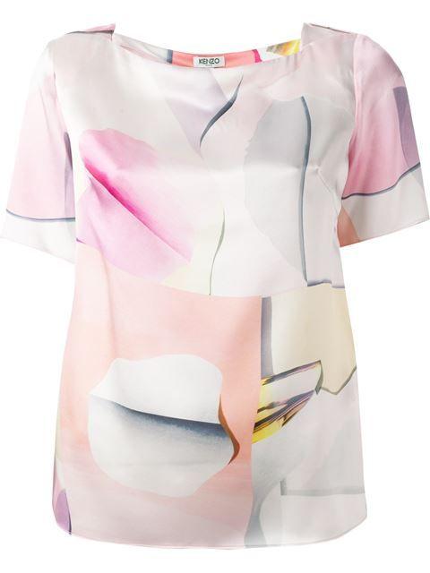 Kenzo Blusa De Seda - Stefania Mode - Farfetch.com