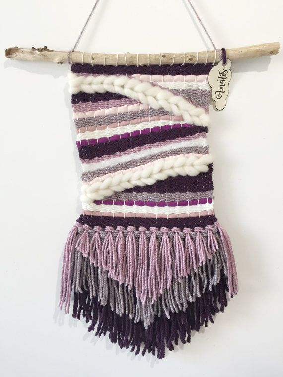 Hey, I found this really awesome Etsy listing at https://www.etsy.com/listing/471147548/wall-weaving-purple-rain