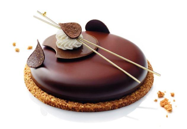 Chocolate entremets - Elle & Vire Professionnel