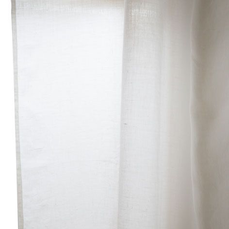 BASIC WASHED LINEN CURTAIN - Curtains - Bedroom | Zara Home Denmark