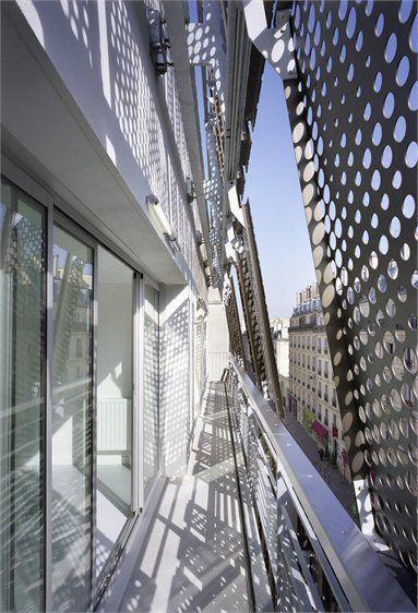 Social Housing 1 Rue De Turenne, Refurbishment and extension, Paris by Chartier-Corbasson Architectes