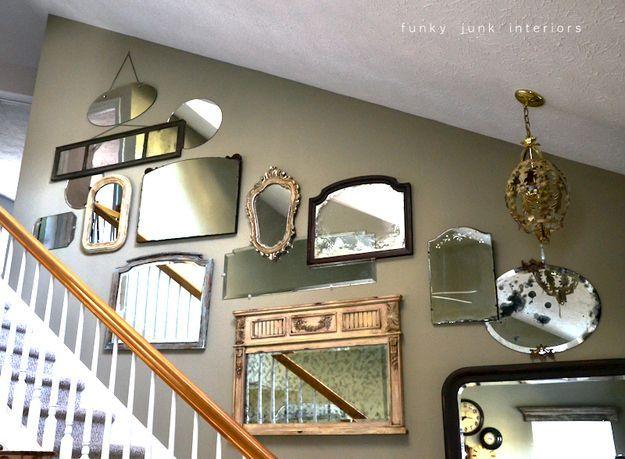25 best ideas about mirror gallery wall on pinterest for Decozilla wall art