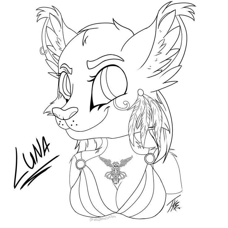 Commission for Luna Crescens from Furry Amino.