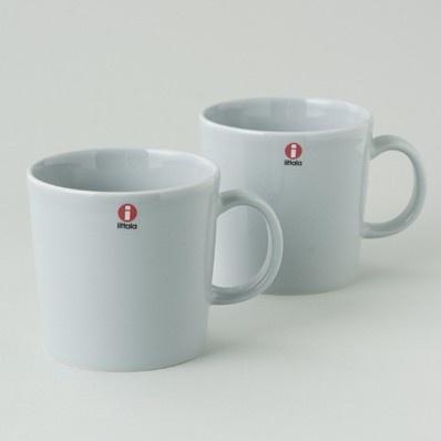 Mugs in Pearl Grey
