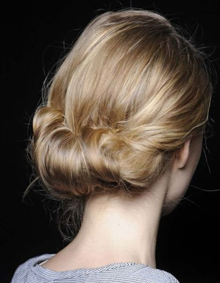 Coupe cheveux attach�s tendance hiver 2015